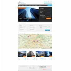 """Адаптивный сайт агентства недвижимости с выгрузкой объектов на """"Яндекс недвижимость"""""""