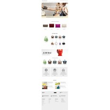 PANORAMA: Адаптивный интернет-магазин сумок, обуви, одежды и аксессуаров