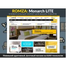 ROMZA: Monarch LITE — интернет-магазин мебели для редакции Старт