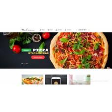 Сайт пиццерии, ресторана и доставки еды - корзина на любой редакции