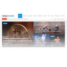 Media: готовый новостной портал, журнал, сайт СМИ