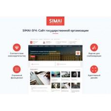 SIMAI-SF4: Сайт государственной организации – адаптивный с версией для слабовидящих