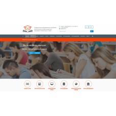 SIMAI: Сайт учебного центра – адаптивный с версией для слабовидящих
