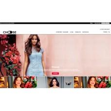 Choose Shop - адаптивный интернет магазин бренда одежды