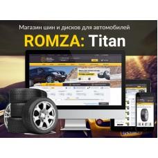 ROMZA: Titan — магазин шин и дисков