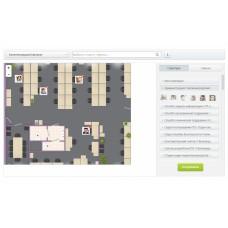 Fusion:Officemap. Сотрудники на карте офиса