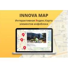 Иннова: интерактивная Яндекс.Карта элементов инфоблока