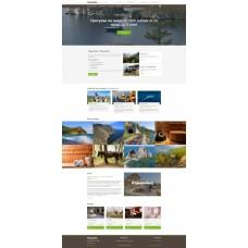 Адаптивный сайт для турбазы, базы отдыха, загородного клуба