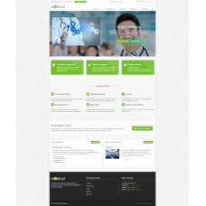 Medical: типовой сайт медицинской компании