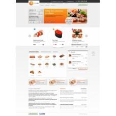 «Доставка суши» - готовое решение для ресторанов, работающих по системе доставки заказа на дом.