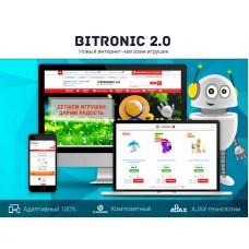 Битроник 2 — интернет-магазин игрушек на Битрикс