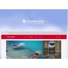 Travelers — готовый сайт туристической компании