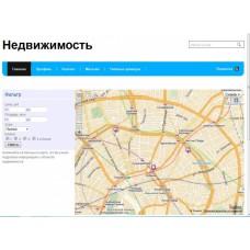 Карта объектов недвижимости